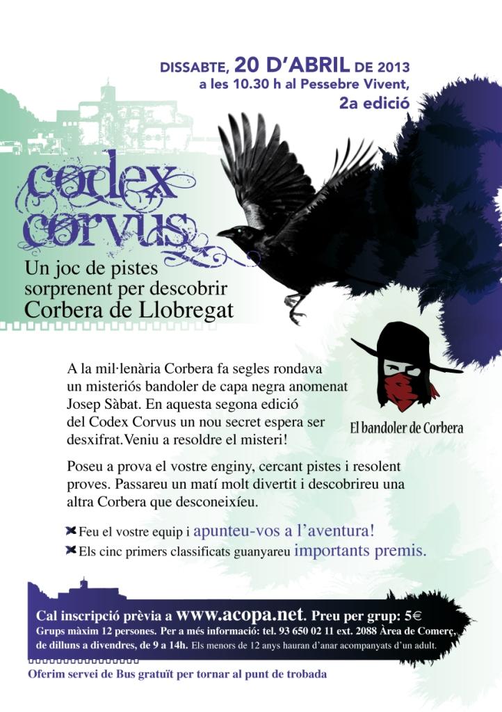 Juego de Pistas Codex Corvus