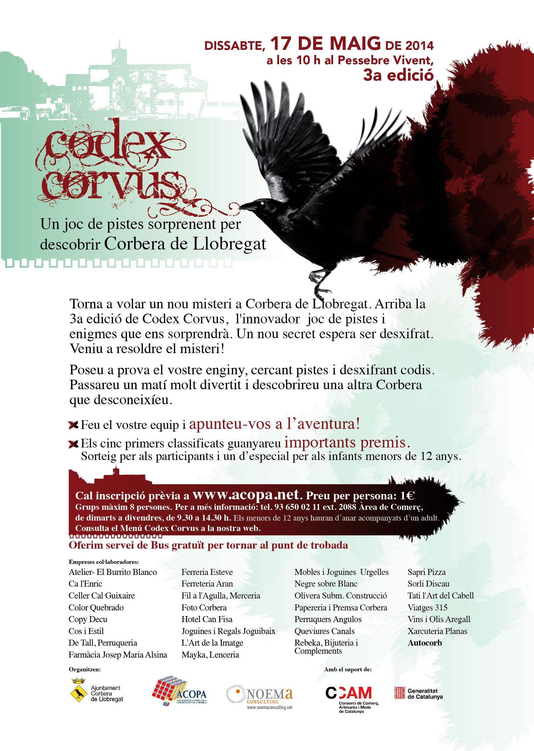 CODEX_CORVUS_JOC DE PISTES 2014